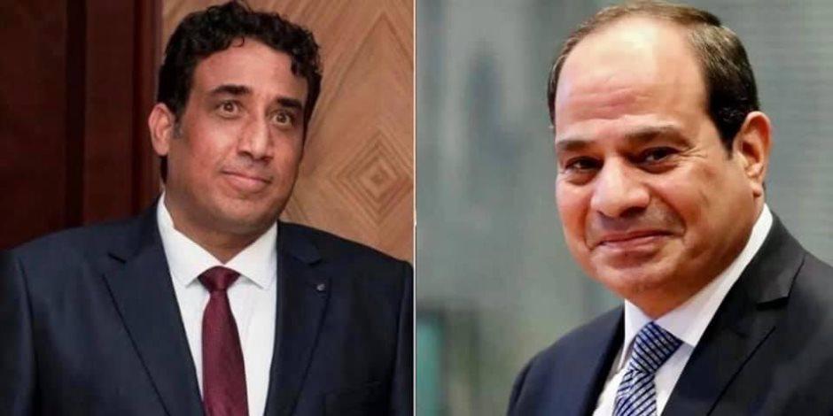 الرئيس السيسى يهنئ رئيس المجلس الرئاسى الليبى بحلول عيد الأضحى المبارك
