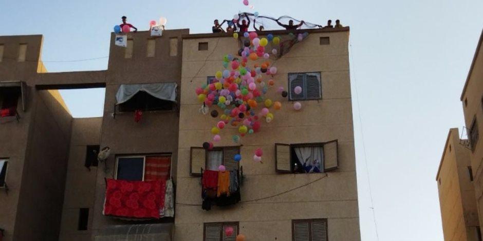 عيد الأضحى شكل تاني.. كشافة مطرانية ينظمون صلاة المسلمين والبالونات تملأ ساحات الأقصر وبورسعيد
