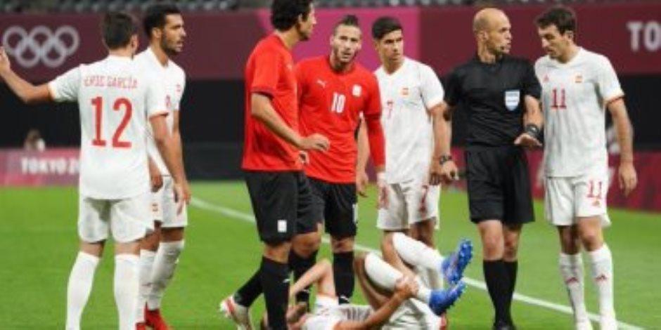 ملخص مباراة مصر وإسبانيا اليوم في أولمبياد طوكيو 2020 (فيديو)