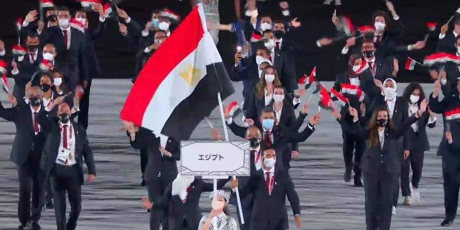 تميز بالتقاليد اليابانية..حفل افتتاح بسيط فى أولمبياد طوكيو 2020.. ومصر تظهر بأكبر بعثة عربية فى طابور العرض بقيادة أبو القاسم وملاك .. فيديو وصور