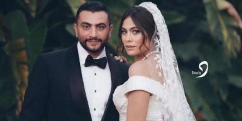 هاجر أحمد.. هكذا احتفلت بزفافها على رجل الأعمال أحمد حداد (فيديو)