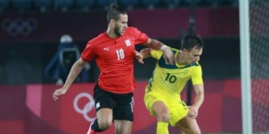 عملوها الأبطال.. مصر تخطف أستراليا بثنائية نظيفة وتواجه البرازيل في أولمبياد طوكيو