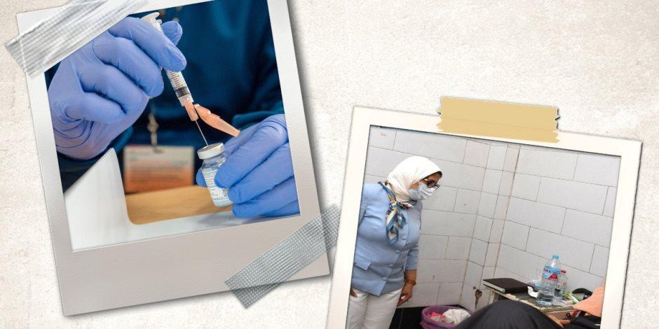 وزيرة الصحة تبشر المصريين.. اللقاح المصري يسمح بالسفر إلى 12 دولة أوروبية