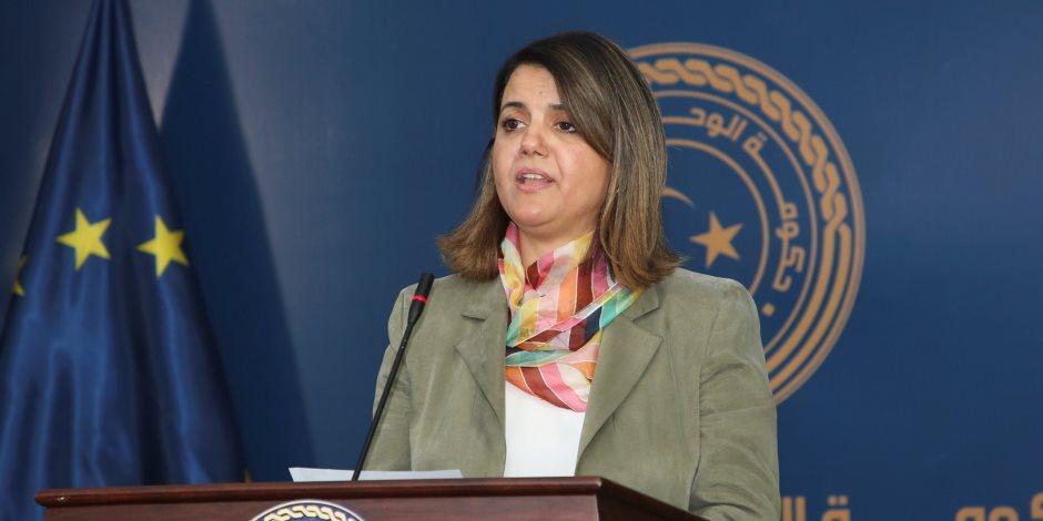 التداخلات الخارجية تناقض الأعراف الدولية.. ماذا قالت وزيرة الخارجية الليبية في مؤتمر دول الجوار؟