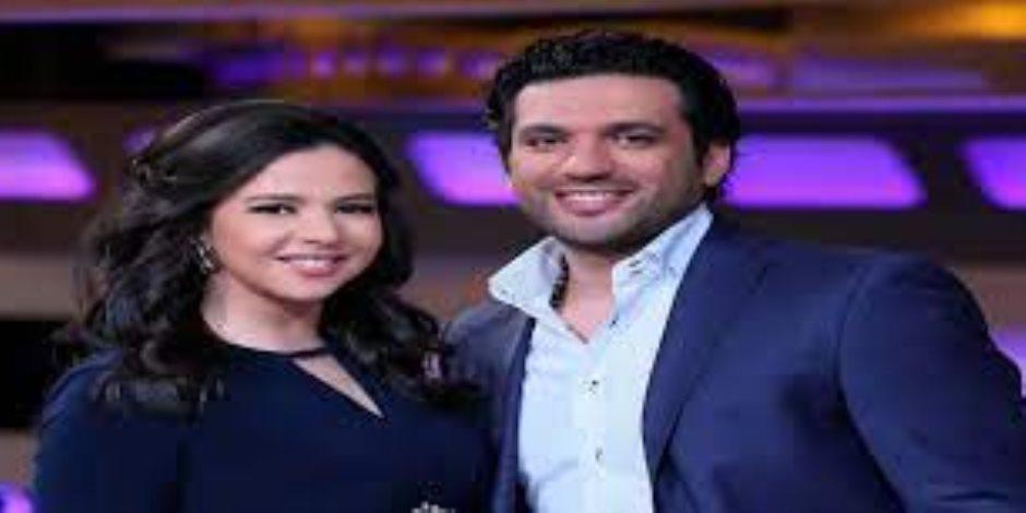 """حسن الرداد يدعم زوجته إيمي سمير غانم: """"ربنا يصبرك وترجع ضحكتك الحلوة"""""""
