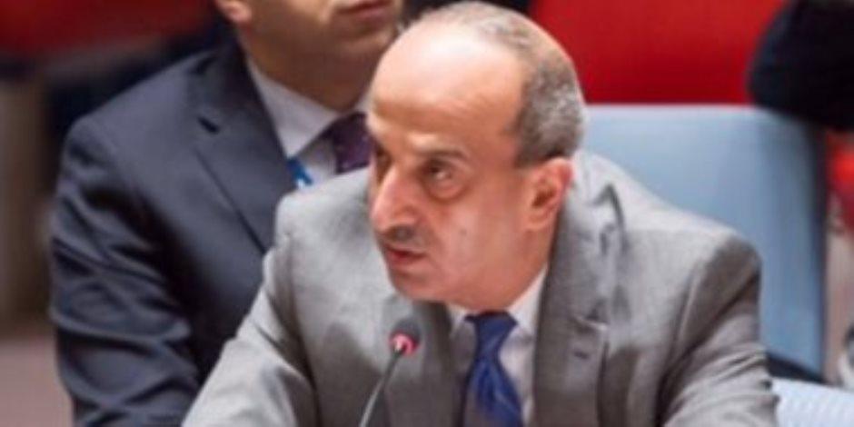 مندوب مصر الدائم لدى الأمم المتحدة عن سد النهضة: الحق فى الحياة يعلو ويسمو