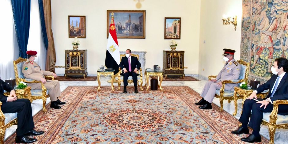 الرئيس السيسي يؤكد موقف مصر الثابت بدعم جهود التوصل لحل سياسى للأزمة اليمنية