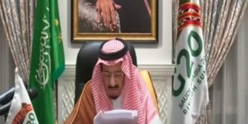 الملك سلمان: المملكة تؤيد حلا سلميا لأزمة سد النهضة بما يضمن حقوق مصر والسودان