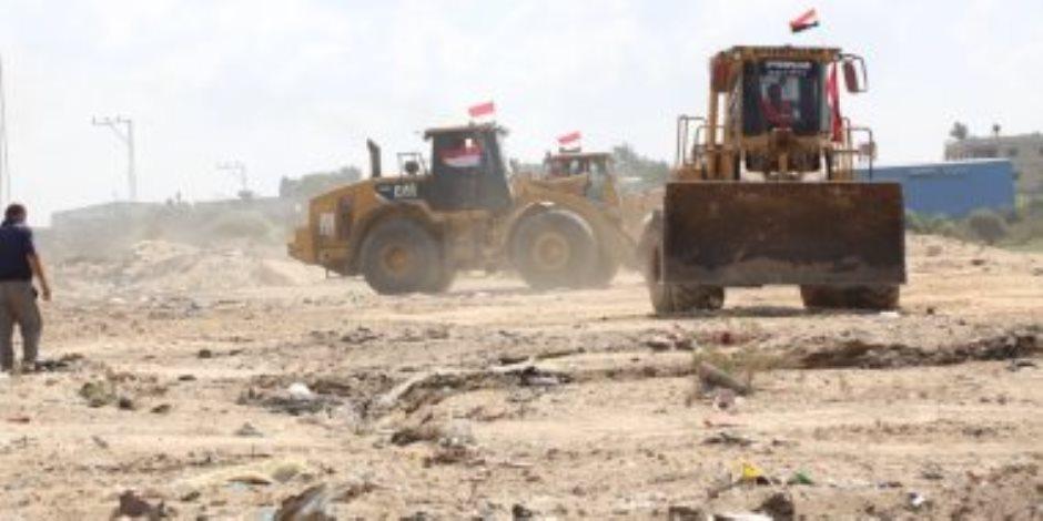 رئيس جمعية رجال الأعمال الفلسطينيين: مصر بدأت تطوير شارع الرشيد شمال غزة