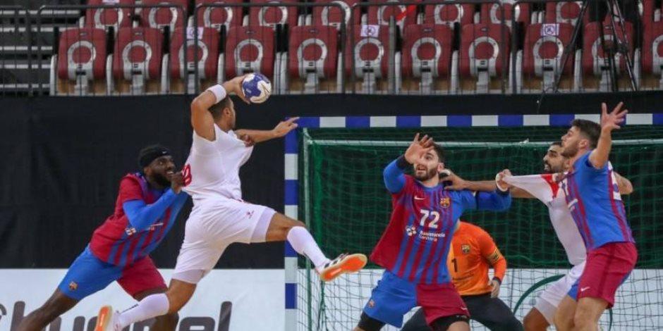الزمالك يهزم الوحدة السعودي 42/22 ويحصد المركز الخامس بمونديال الأندية لليد