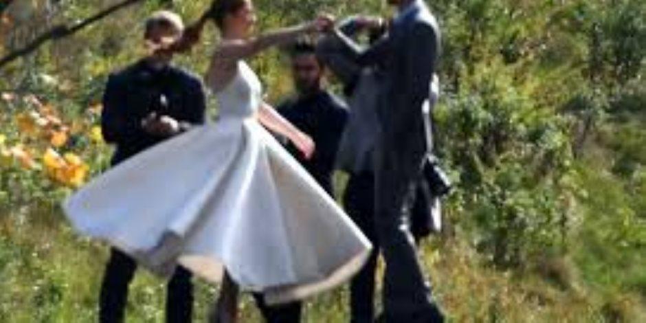 بالصور.. ليلة زفاف ابنة بيل جيتس والفارس المصري نائل نصار