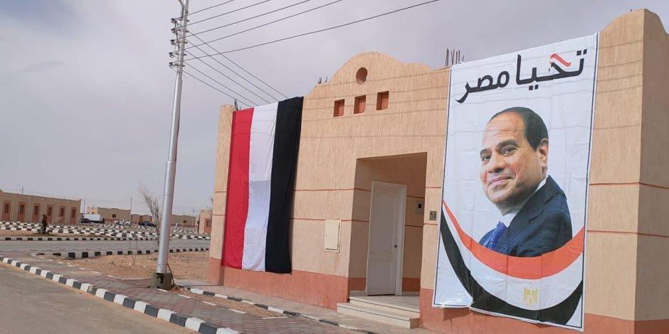 عمرناها وبنيناها.. 10 تجمعات تنموية كاملة المرافق جاهزة لاستقبال المصريين بشمال (وسط) سيناء