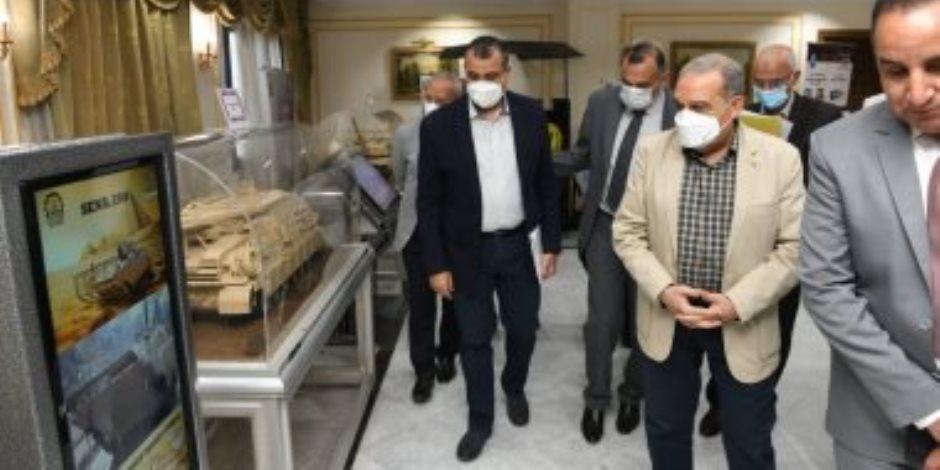 """تفاصيل جولة وزير الإنتاج الحربي في معرض مصر الدولي  """"EDEX 2021"""""""