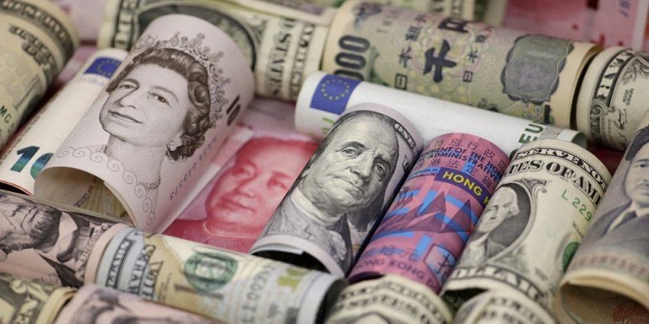 أسعار العملات الأجنبية الليوم الاثنين 25-10-2021 في بداية تعاملات البنوك المصري