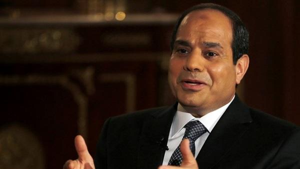 الرئيس السيسي يتلقى رسالة من نظيره العراقي فؤاد معصوم