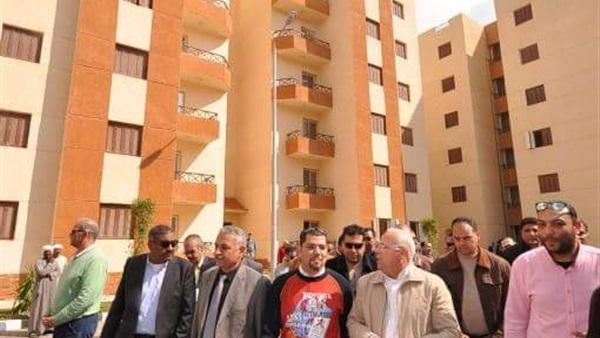 محافظ بورسعيد: انتهاء مرافق المرحلة الأولى للإسكان الاجتماعي