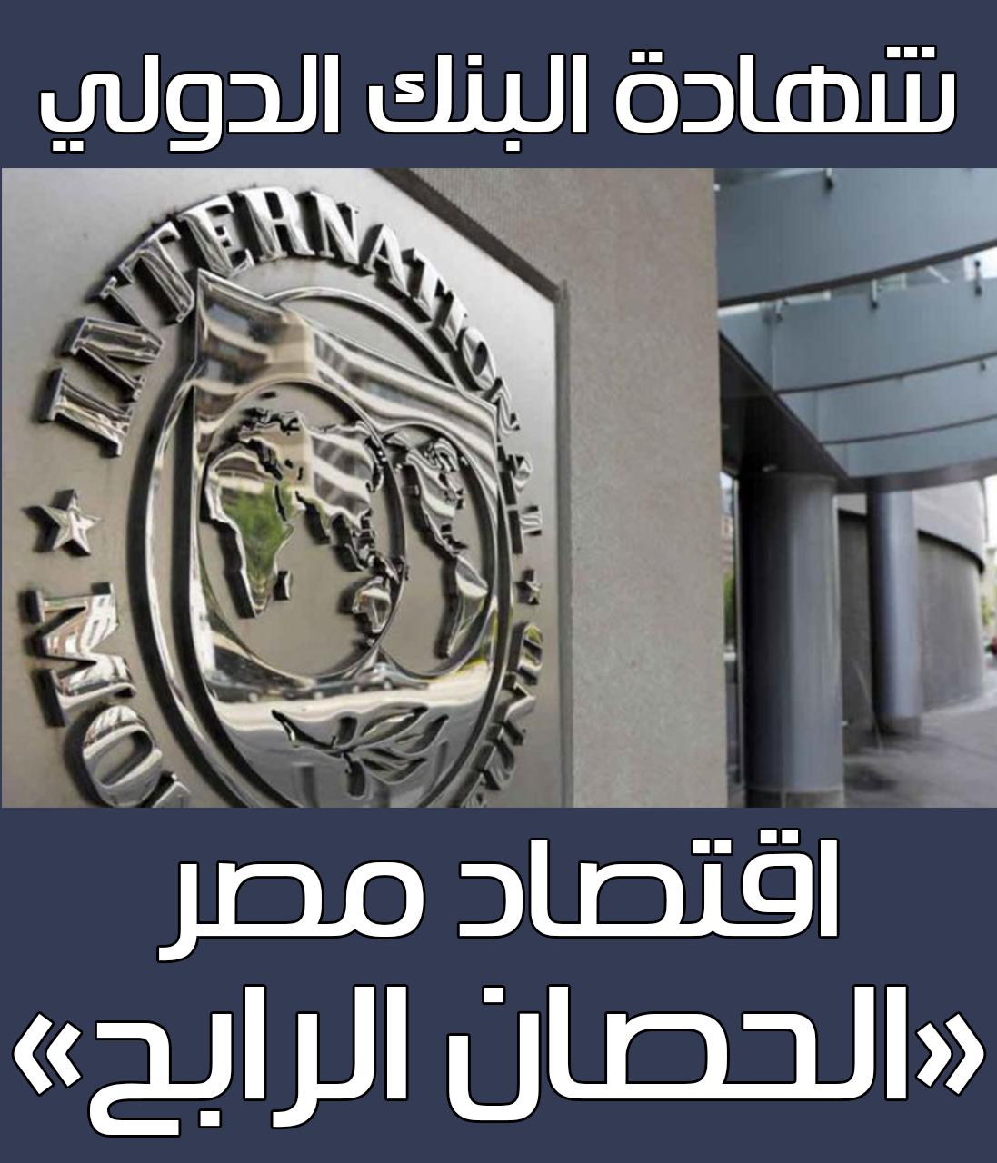 """شهادة البنك الدولي.. اقتصاد مصر """"الحصان الرابح"""""""