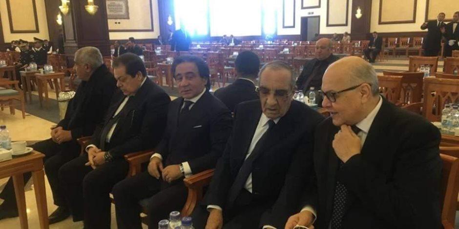 نتيجة بحث الصور عن حضور أحمد نظيف وزكريا عزمي