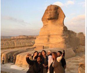 نجوم الأوسكار يسطرون عشقهم لمصر بعد الإنبهار بمعالمها