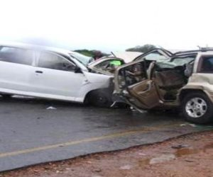 حادث تصادم بكوبري الحرفيين يوقف حركة المرور