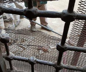 الأمن يحبط سرقة ٣ طن حديد من ورشة تابعة لهيئة السكة الحديد