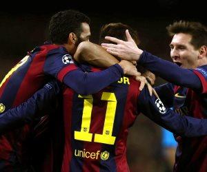 برشلونة يواجه مالاجا فى الدورى الأسبانى الليلة