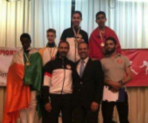 محمد حمزة يمارس هويته ويحرز ذهبية بطولة أفريقيا في الشيش