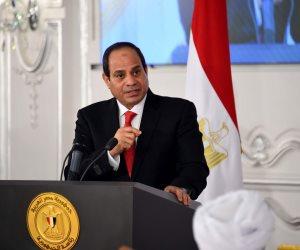 السيسى: مفردات صناعة البحث العلمى توجد بالكامل فى مصر وأفريقيا