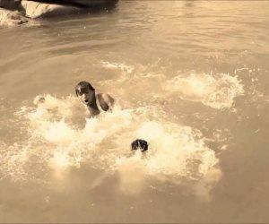 مصرع طفل غرقا ونجاة أخر سقطا بترعة في سوهاج