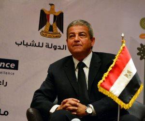 لماذا لم يحضر وزير الرياضة حفل تكريم حسن حمدى؟.. تعرف على السبب