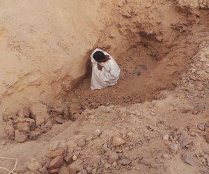 مصرع 3 أشخاص داخل حفرة أثناء البحث عن الآثار بالدقهلية