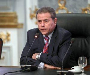 مشادات بين أنصار «عكاشة» وأمن مجلس الدولة