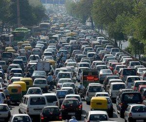 كثافات مرورية بكوبري أكتوبر .. و«مرور القاهرة» تعلن عن المسارات البديلة (صور)