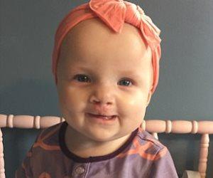 بعد 7 أشهر من ولادتها.. «رايلي» تبتسم وتأكل لأول مرة