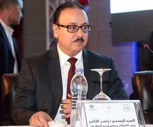 """""""وزير الاتصالات"""" يفتتح عدداً من مشروعات تكنولوجيا المعلومات بكفر الشيخ"""