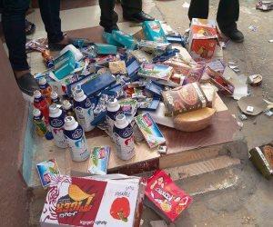ضبط قرابة 8 أطنان أغذية ومشروبات فاسدة في الشرقية