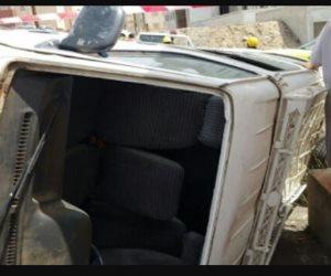 مصرع 5 أشخاص وإصابة 16 آخرين فى حادث تصادم على طريق سوهاج البحر الأحمر