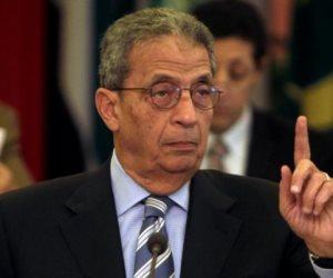 عمرو موسى: قولا واحدا لن أترشح للرئاسة