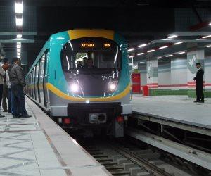 المترو: حركة الخطوط الثلاثة منتظمة والتشغيل مستمر حتى السادسة مساءً