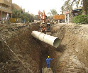 """بشرة خير.. بدء تنفيذ مشروعات المياه والصرف الصحي بـ7 مراكز بأسيوط ضمن """"حياة كريمة"""""""
