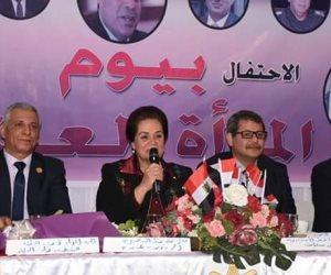 تكريم محافظ البحيرة في احتفالية يوم المرأة العالمي بالإسكندرية