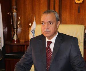 محافظ قنا يتفقد محطة رفع مياه الشرب بقرية أبو عموري