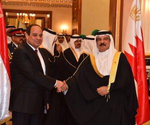 ملك البحرين للسيسي: نتمنى لكم استمرار قيادة مصر بمسيرة الازدهار