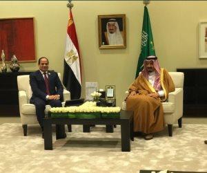 السفير السعودي بالقاهرة يكشف تفاصيل لقاء السيسي وسلمان.. ويؤكد: سادته روح المحبة (صور)