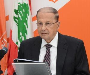 ميشال عون: أي قرار أمريكي بعقوبات ضد لبنان يزيد الوضع سوءا