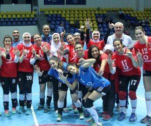 صعود «طائرة سيدات الأهلي» لنهائى كأس مصر بعد الفوز على الزمالك