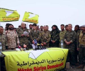 قوات سوريا الديمقراطية تصل مدينة البوكمال بدير الزور