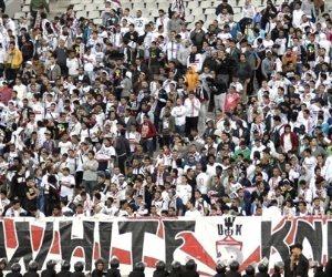 جماهير الزمالك يشعلون ملعب السلام استعدادا لمباراة ويلايتا وديتشا