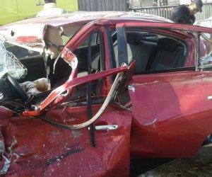 مرور القاهرة: حادث تصادم أمام حديقة الأزهر دون تأثير على حركة السير