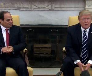 السيسي يلتقي ترامب في البيت الأبيض (بث مباشر)